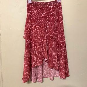 Dresses & Skirts - NWOT Polka Dot Long Skirt